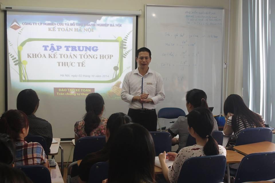Khai giảng lớp học kế toán thực hành tổng hợp tại  Thủ Dầu 1 Bình Dương