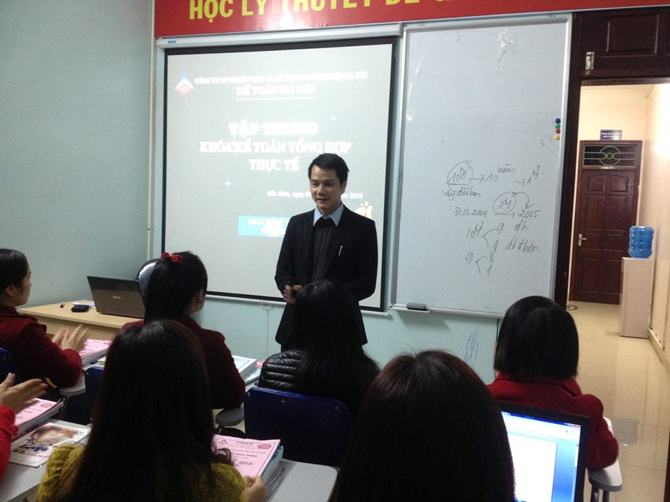 Trung tâm dạy thực hành kế toán tại Quảng Ninh