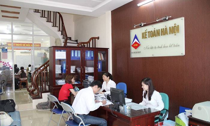 Lớp học kế toán thực hành tại Phú Thọ