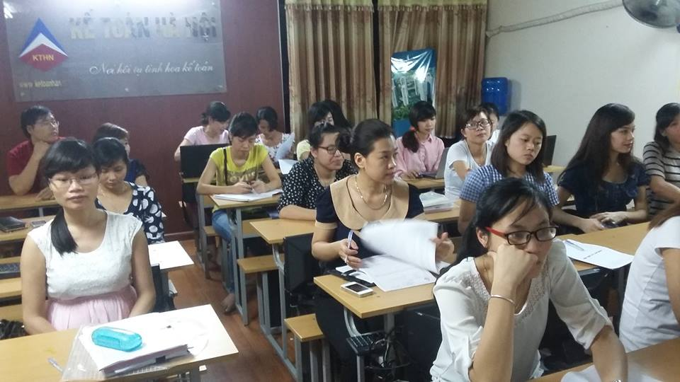 Trung tâm dạy kế toán thực tế ở tpHCM tốt nhất