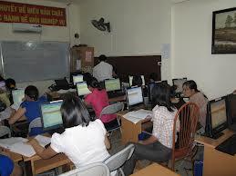 Lớp học kế toán thực hành thực tế tại Bắc Ninh